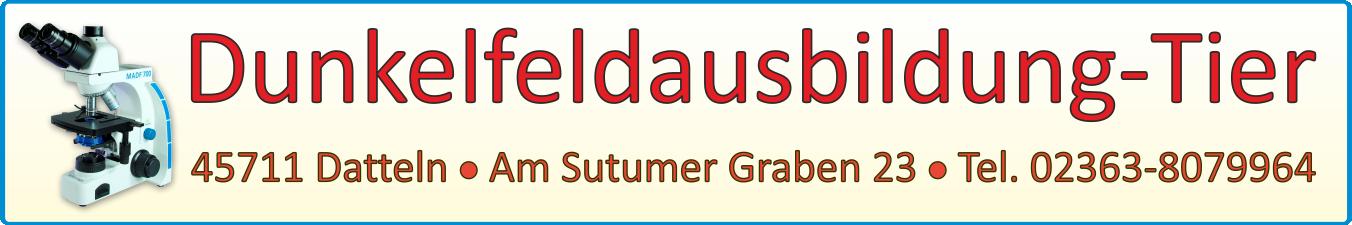 Logo Dunkelfeld-Tier mit Hintergrund